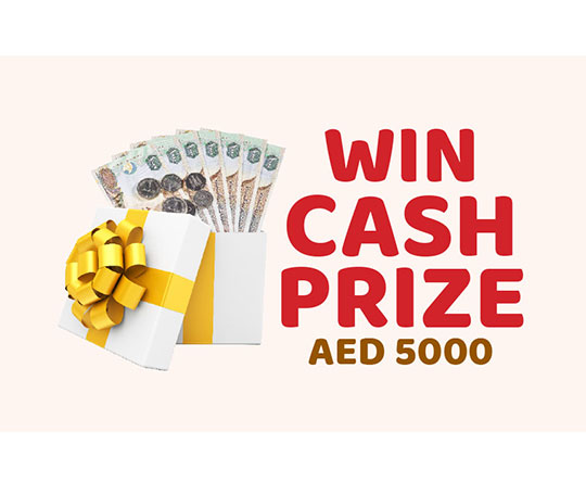 Win Cash Prize